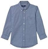 Gant Navy and White Gingaham Shirt