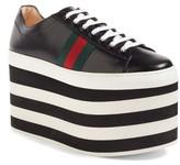 Gucci Women's Peggy Platform Sneaker