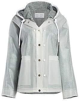 Proenza Schouler White Label Women's Transparent Rain Coat