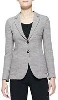 Armani Collezioni Wool Two-Button Blazer