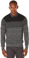 Perry Ellis Horizontal Stripe Sweater