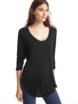 Gap Scoop neck long sleeve tunic