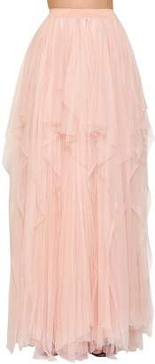 Faith Connexion Layered Ballet Soft Tulle Maxi Skirt