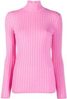 Nina Ricci ribbed fitted jumper