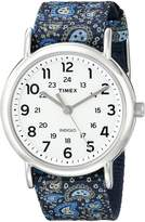 Timex Women's TW2P811009J Weekender Collection Analog Display Quartz Two Tone Watch