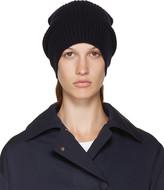 Stella McCartney Navy Wool Beanie