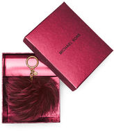 MICHAEL Michael Kors Fox Fur Key Fob