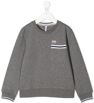 Sun 68 Kids Pocketed Sweatshirt