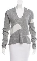 Helmut Lang Knit V-Neck Sweater