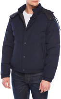 Sandro Removable Hood Quilted Puffer Coat
