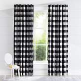 crate barrel black buffalo check blackout curtains - Crate And Barrel Curtains
