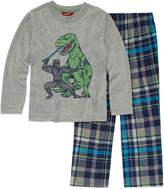 Arizona Husky 2 pc Dinosaur Pajama Set - Boys