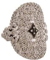 Armenta New World Oval Cravelli Diamond Ring