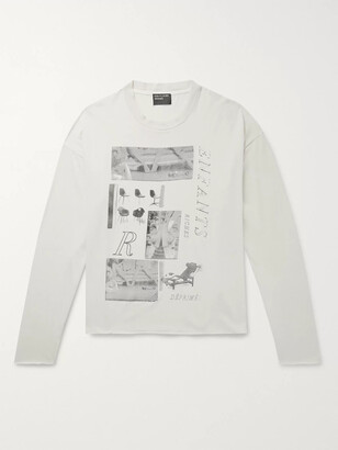 Enfants Riches Deprimes Oversized Printed Cotton-Jersey T-Shirt