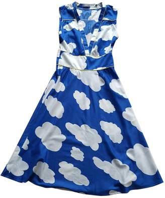 JC de CASTELBAJAC Blue Cotton Dress for Women