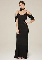 Bebe Pointelle Panel Maxi Dress