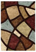 Orian Oval Day Brown Rug