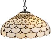 AMORA Amora Lighting AM011HL18 Tiffany Style Jeweled 2-light Hanging Lamp