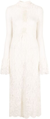Paco Rabanne Layered Lace Dress