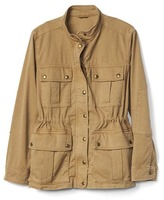 Gap Garment-dye utility jacket