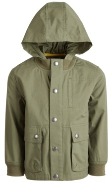 Epic Threads Toddler Boys Hooded Canvas Jacket, Created for Macy's