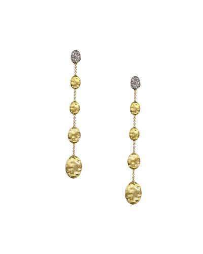 Marco Bicego Siviglia Diamond Long Drop Earrings