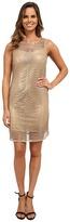 rsvp Sleeveless Sequin Netting Dress
