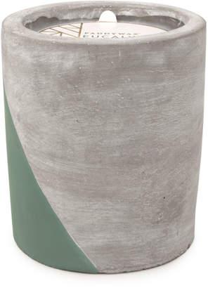 Paddywax Eucalyptus & Santal Large Concrete Candle, 12 oz./340g