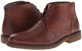 Johnston & Murphy Copeland Casual Chukka Boot (Red Brown Oiled Full Grain) Men's Lace-up Boots