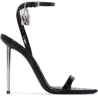 Tom Ford Padlock 105mm sandals