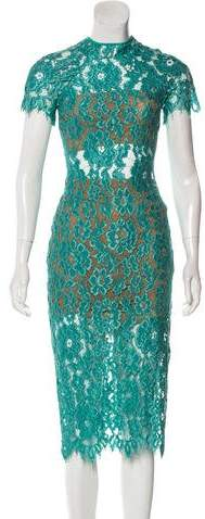 Alexis Lace Midi Dress