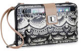 Sakroots Artist Circle Large Smartphone Crossbody Bag