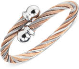 Charriol Womens Two-Tone Cable Bangle Bracelet