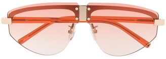 Linda Farrow Hyacinth aviator frame sunglasses