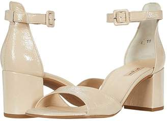 Paul Green Christy Sandal (Sand Crinkled Patent) Women's Shoes