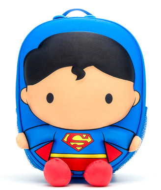 Justice Ridaz Boys' Backpacks Blue - Blue League Superman Backpack
