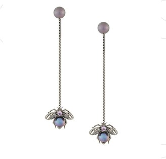 Axenoff Jewellery Drop Bee Earrings