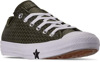 Converse Women Chuck Taylor All Star Vltg Leather Low Top Casual Sneakers from Finish Line