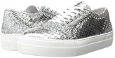 Just Cavalli Python Leather and Glitter Sneaker Women's Shoes