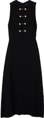 Proenza Schouler Sleeveless Barbell Closure Long Dress