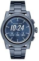 Michael Kors Grayson Blue IP Touchscreen Bracelet Smartwatch