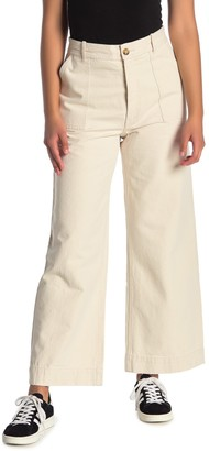 Frye Nadia High Waist Wide Leg Pants