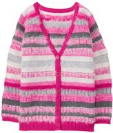 Gymboree Fuzzy Striped Cardigan
