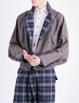 Vivienne Westwood Checked cotton-blend jacket