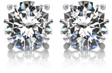 Emitations 2.5 TCW Jessica's CZ Stud Earrings