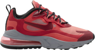 Nike 270 React Running Shoes - Gym Red / Team Track Hot Punch