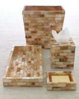 Amber Capiz Bath Accessories