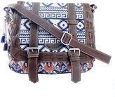 UNIONBAY Union Bay Aztec Print Messenger Bag