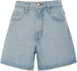 Nobody Denim Stevie High-Rise Denim Shorts