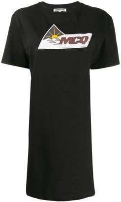 McQ pyramid scene T-shirt dress